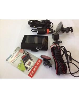 3 WAYS - FULL HD DVR (FRONT/REAR/CABIN CAMERA)