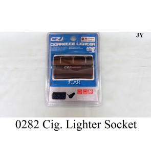 3-WAYS CIGARETTE LIGHTER SOCKET - 0282