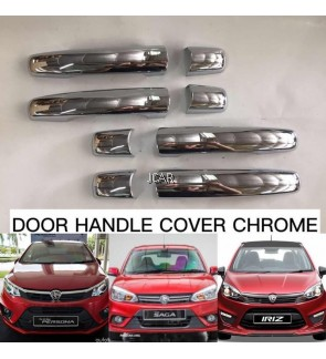 DOOR HANDLE COVER - P.IRIZ / SAGA / PERSONA (CHROME) / SET