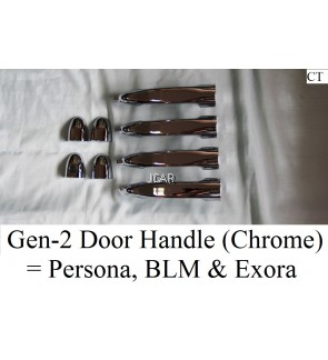 DOOR HANDLE - GEN-2 / PERSONA / BLM / EXORA (CHROME)
