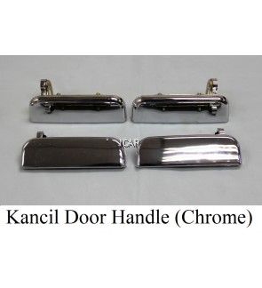 DOOR HANDLE - KANCIL (CHROME) (SET)