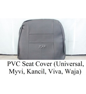 PVC SEAT COVER - VIVA 660 / 850  (GREY / BLACK)