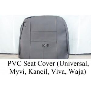 PVC SEAT COVER - KANCIL 660/850 (GREY / BLACK)