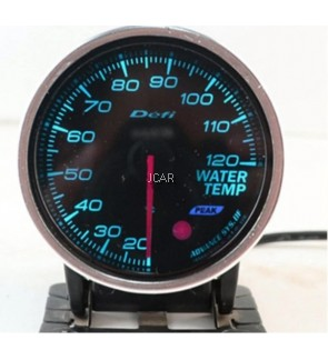 DEFI PERFORMANCE METER GAUGE WITH 7 COLOR